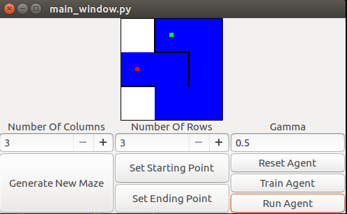 MitchellSpryn | Solving A Maze With Q Learning